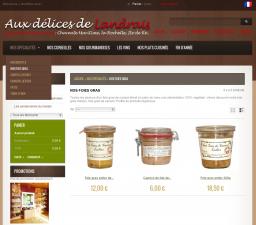 eewee-realisation-creation-site-internet-aux-delices-de-landrais-liste-produits
