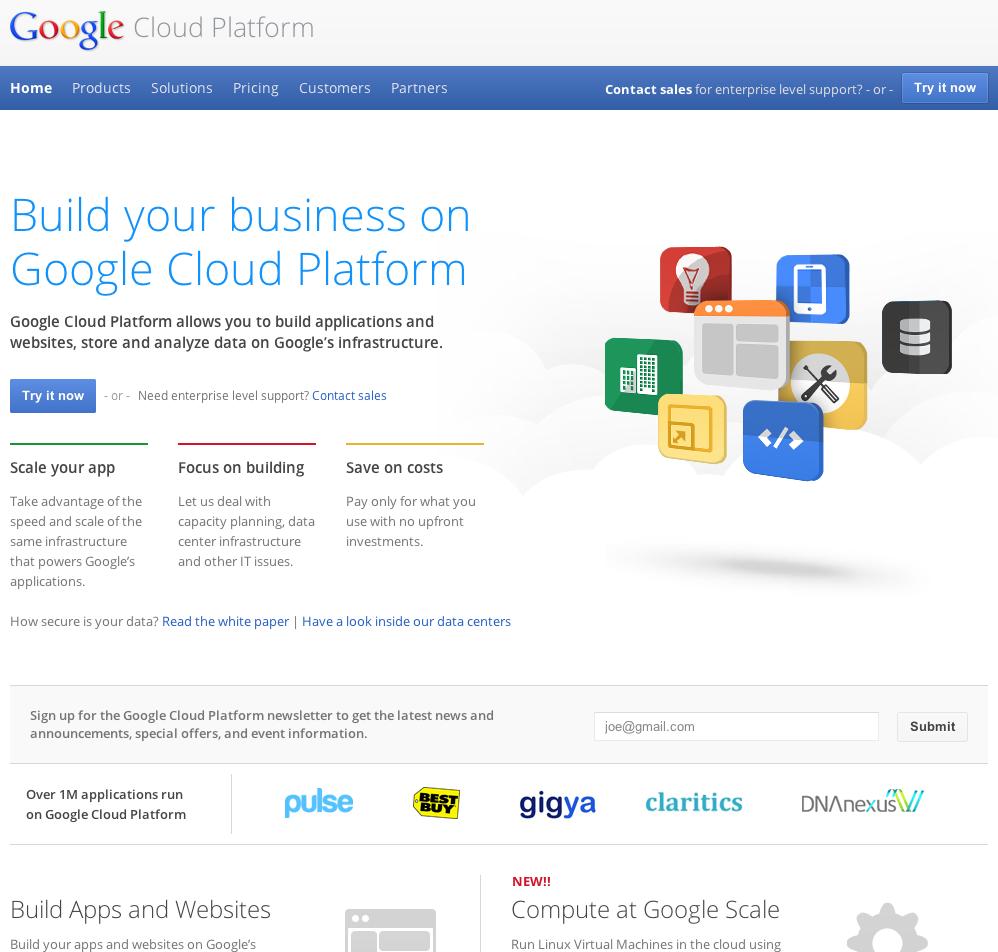 eewee-saas-google-cloud-platform-home