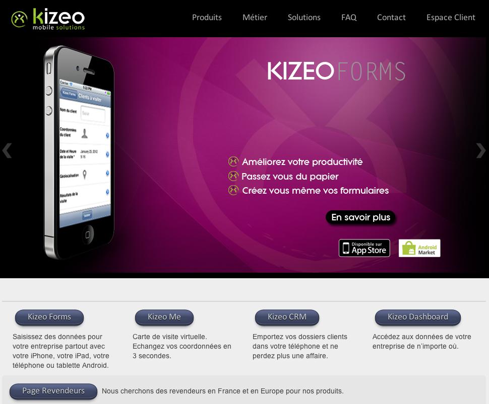 eewee-saas-kizeo-home