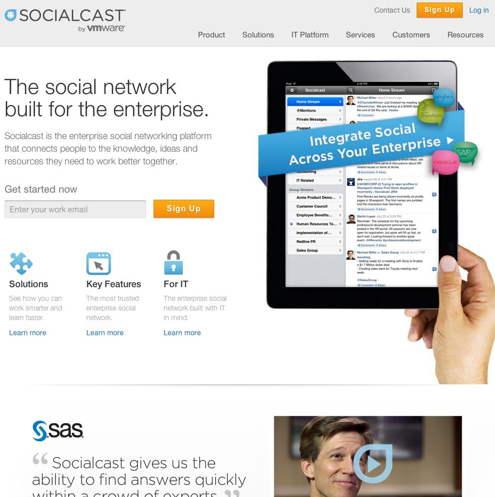 eewee-saas-socialcast-home