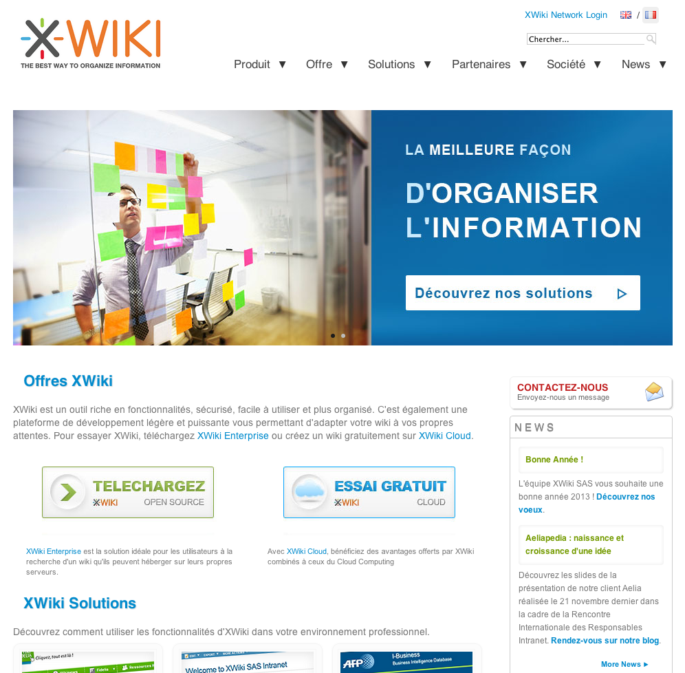 eewee-saas-xwiki-home