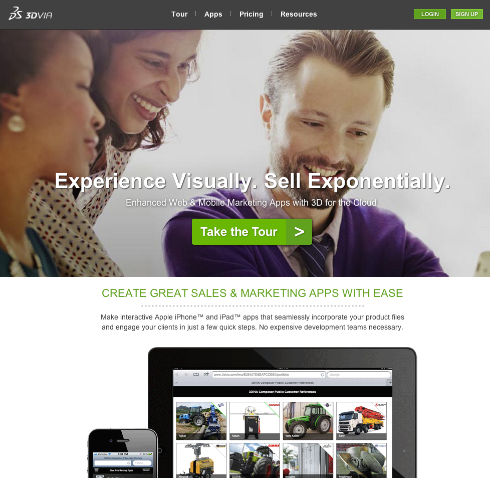 eewee-solution-saas-cloud-3DVIA-home