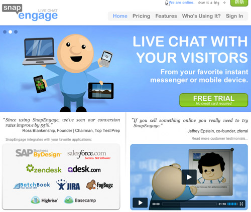 chat-live-support-snapEngage