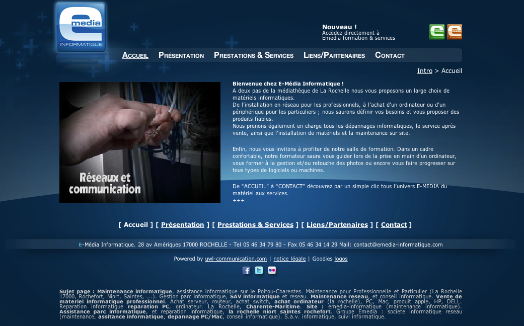 cb86b0be7e6 eewee-creation-site-internet-emedia-informatique - Developpeur ...