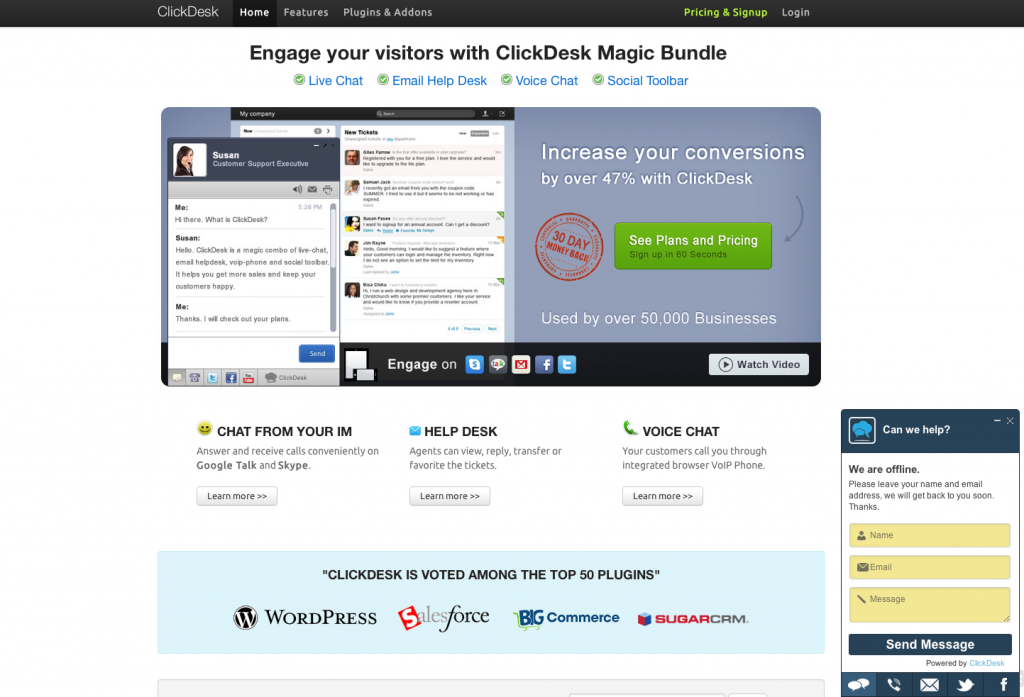 eewee-live-chat-support-clickdesk-home