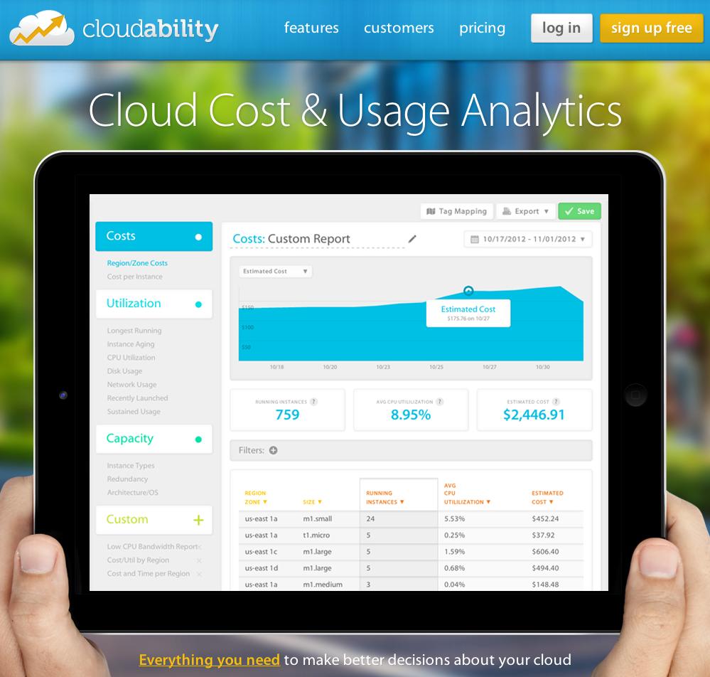 eewee-saas-cloudability-home