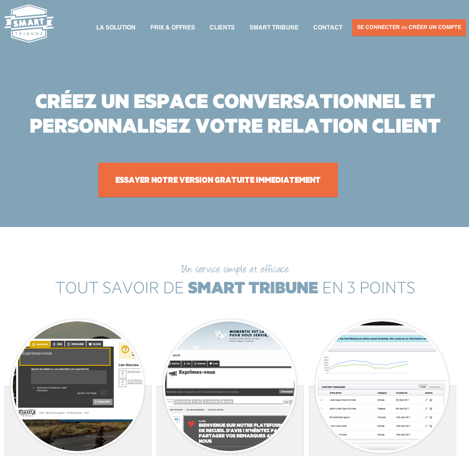 eewee-saas-smart-tribune-home