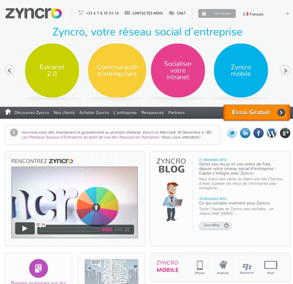 eewee-saas-zyncro-home