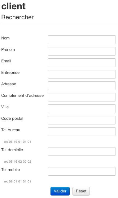 eewee-zend-framework-intranet-recherche-client