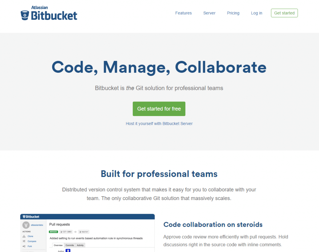 eewee-saas-bitbucket-home