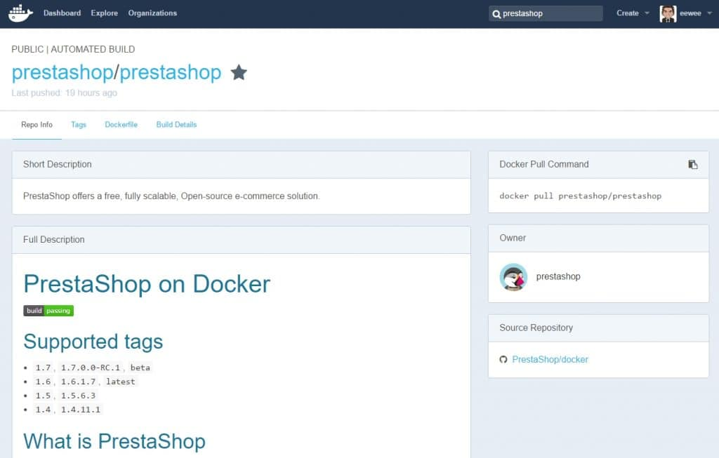 eewee-docker-repository-prestashop